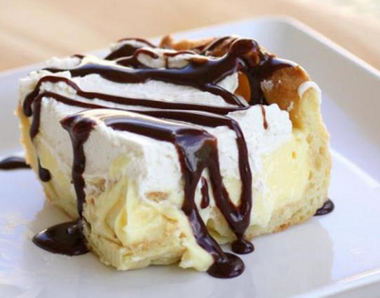 Celebrate National Chocolate Eclair Day With This Fantastic Eclair Cake
