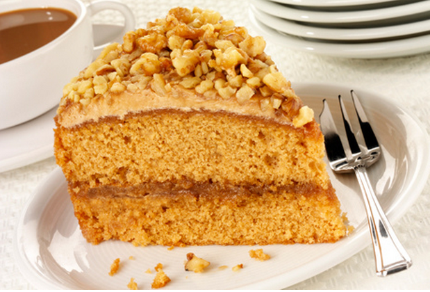 Love Coffee Cake ? ..Then Try This Classic Coffee And Walnut Cake Recipe