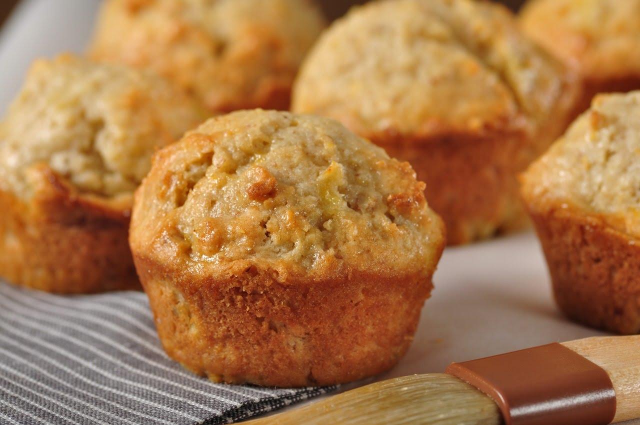 Delightful Orange & Pineapple Mini Muffin Recipe