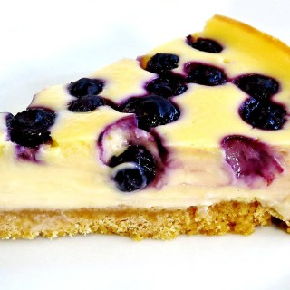 How To Make A Baked Blueberry Easy Cheesecake Recipe