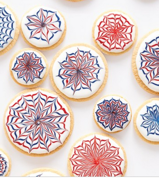 Easy Cookies To Make Are These Fireworks Cookies For The 4th July