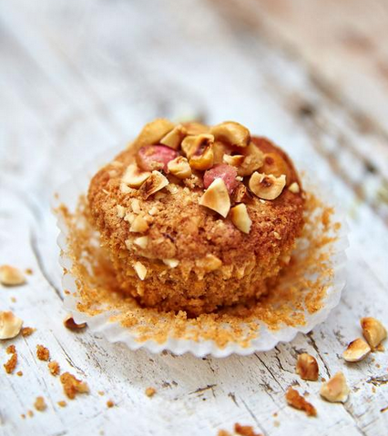 Dairy-Free Apple Muffins With chopped Hazelnuts & Cinnamon .. Sounds Good