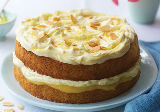 Almond And Lemon Cake .. That Would Be Great For That Tea Party
