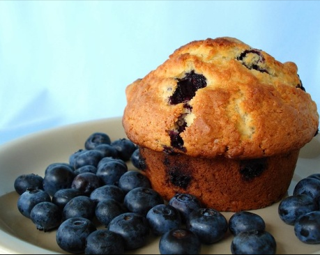 A Blueberry Recipe For These Buttermilk Berry Muffins