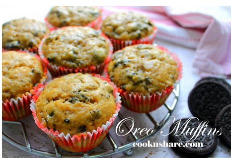 Do You Love Those Great Oreo Recipes Then Try These Yummy Muffins
