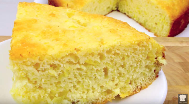 You Won't Believe It 3 Ingredient Pineapple Cake