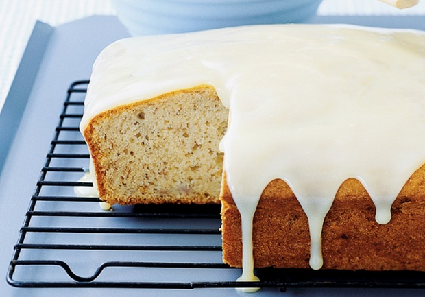 Delicious Sour Cream Cake In This Banana Cake Recipe