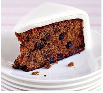 Easy Apple Fruit Cake Recipe