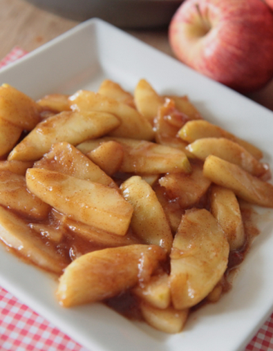 Southern Fried Cinnamon Apples