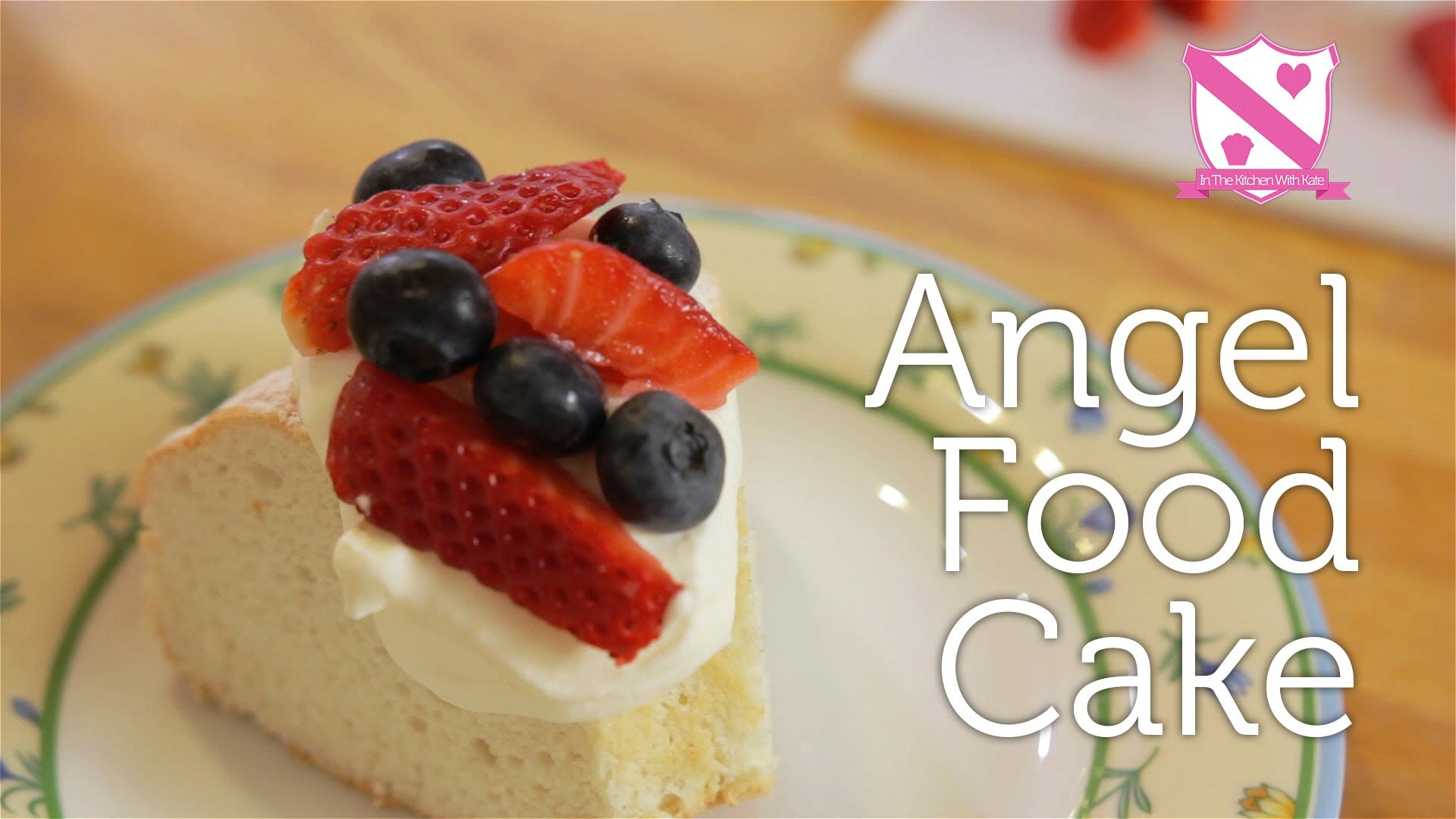 A Basic Angel Cake Recipe For You To Try Out