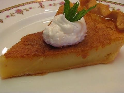 A Buttermilk Pie Recipe