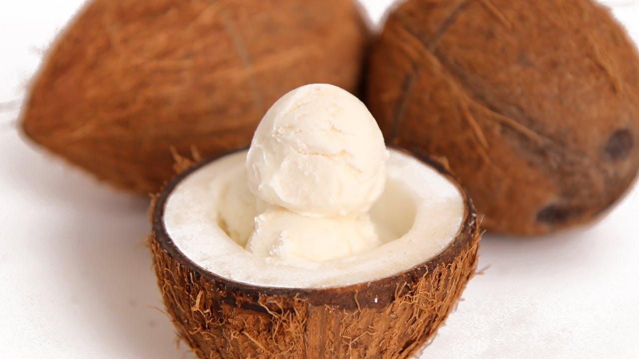 Creamy Coconut Ice Cream Recipe