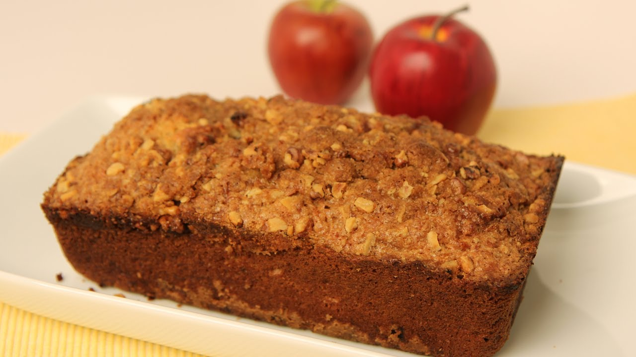 Delightful Home-made Apple Bread Recipe With Cranberries