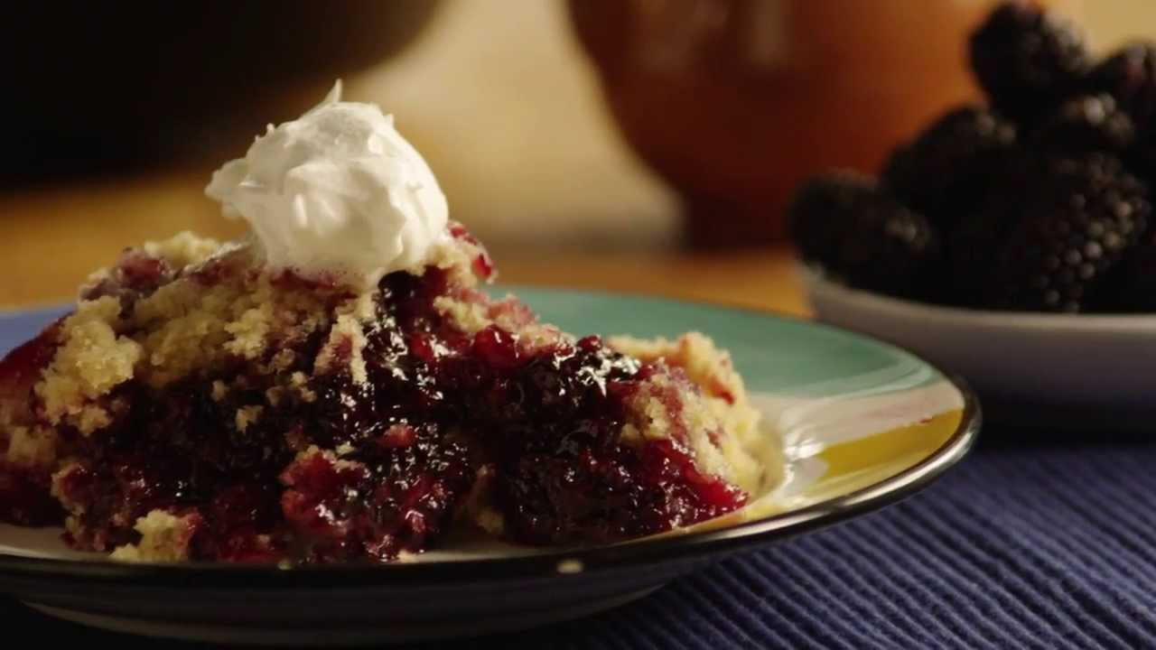 How To Make A Delicious Blackberry Cobbler