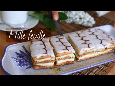 How To Make Mille Feuille..Wonderful French Pastries