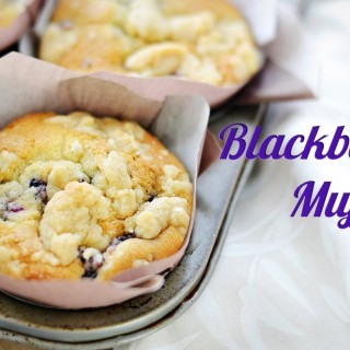This Is One Of Those Delightful Blackberry Muffin Recipes For A Weekend Treat