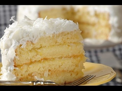 Why Not Try To Bake This Coconut Cake