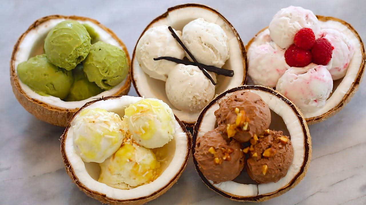 5 Ice Cream Flavours To Make Including Green Tea Ice Cream