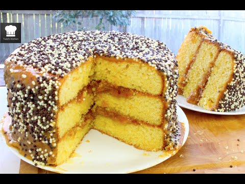 A Basic Caramel Cake Recipe ..That Is Simply A Great One To Bake