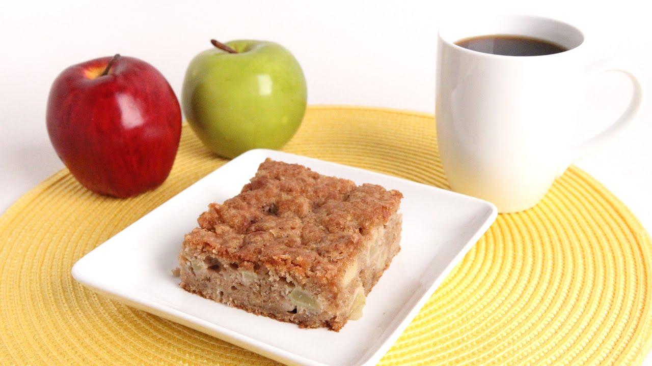 Apple Yeast Coffee Cake
