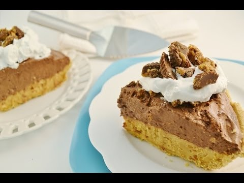 A Wonderful Chocolate & Pea Nut Butter Pie ..That Is simply Yummy
