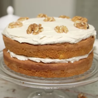 Diabetic Coffee Walnut Cake Recipe