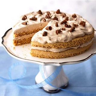 Hazelnut-Mocha Torte Recipe That Is Diabetic Friendly