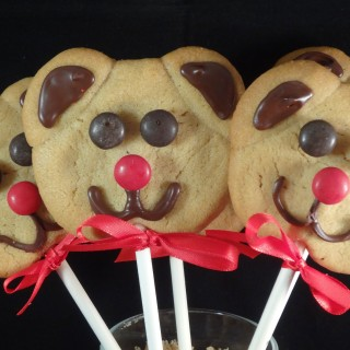 What Fantastic Teddy Bear Peanut Cookie Pops