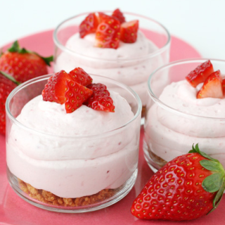 What A Wonderful Creamy Strawberry Cheesecake Mousse