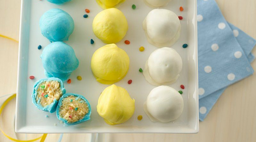 Fun Rainbow Cake Mix To Make These Cake Balls For That Special Occasion