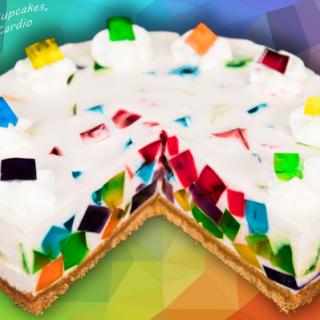 Have Fun Making Rainbow Jello Cake Mix Recipe