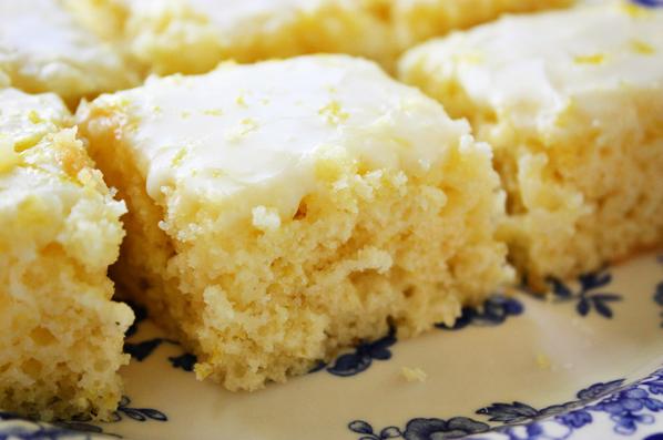 Really Easy To Make Lemon Brownies