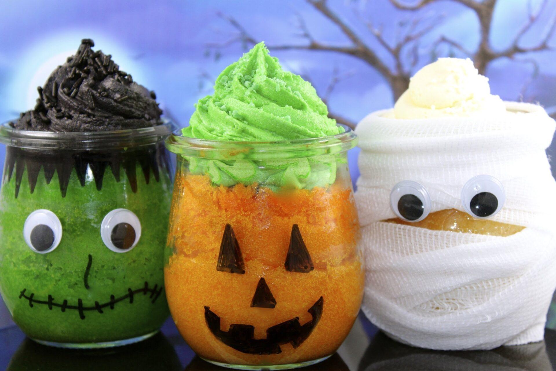 Fantastic Halloween Ideas On How To Make Halloween Cupcake Jars