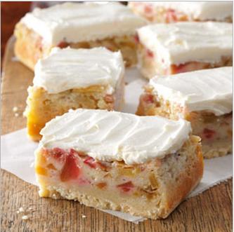 Love Rhubarb & Custard ?..Then Try These Rhubarb Bars