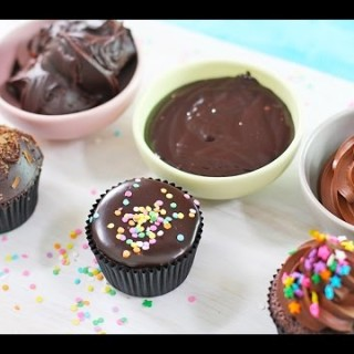 A Great Video Showing You How to Make Chocolate Ganache Frosting 3 Ways