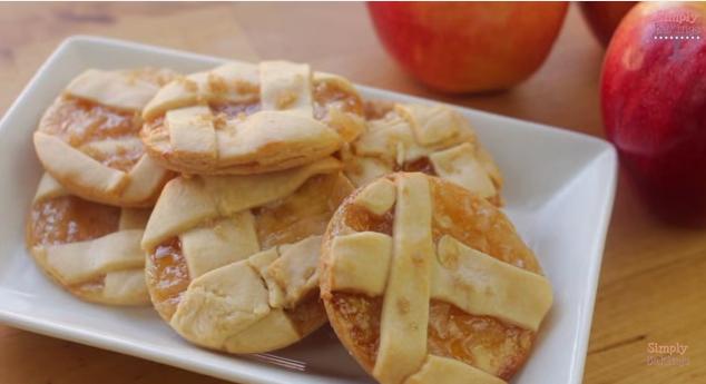 Really Delicious Looking Apple Pie Cookies