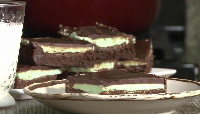 Fantastic Chocolate & Mint Brownies To Make