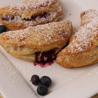 Love Blueberry Recipes ?.. Then Try These Blueberry Turnovers