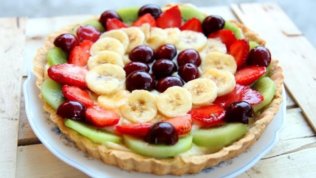 A Beautiful Looking Italian Fruit Tart Recipe