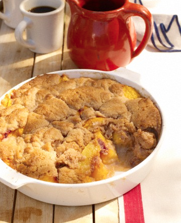 A Great Recipe For A Wonderful Comforting Peach Cobbler