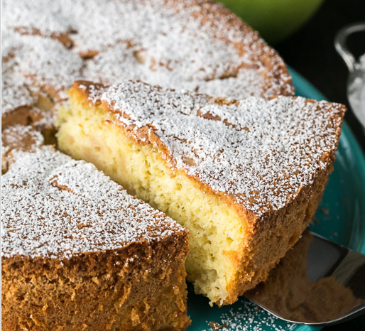 A Wonderful Apple Sharlotka Recipe .. Russian Apple Cake
