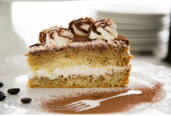 A Wonderful Looking Tiramisu Cake Recipe