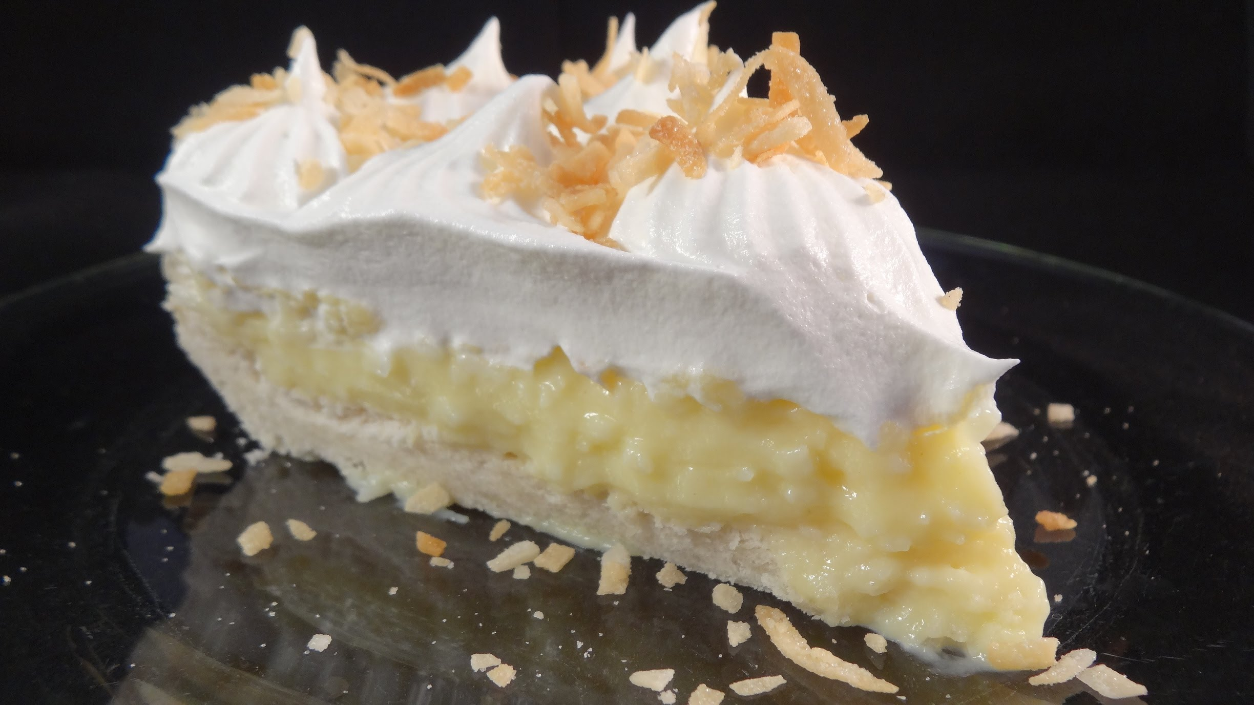 What An Awesome Coconut Cream Pie Recipe