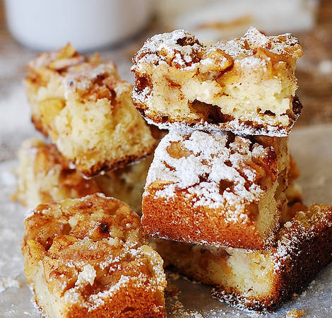 How About Making These Easy Apple Squares