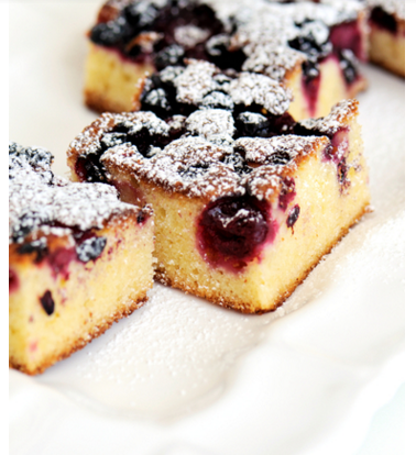 Looking For One Of Those Amazing Tray bakes Well Here Is A Forest Fruit One
