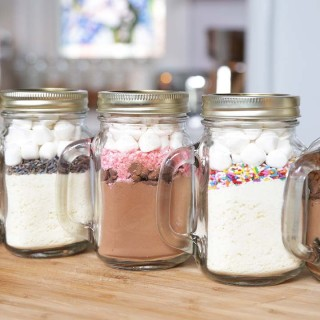 How to make 5 hot chocolate in a jar recipes negle Gallery