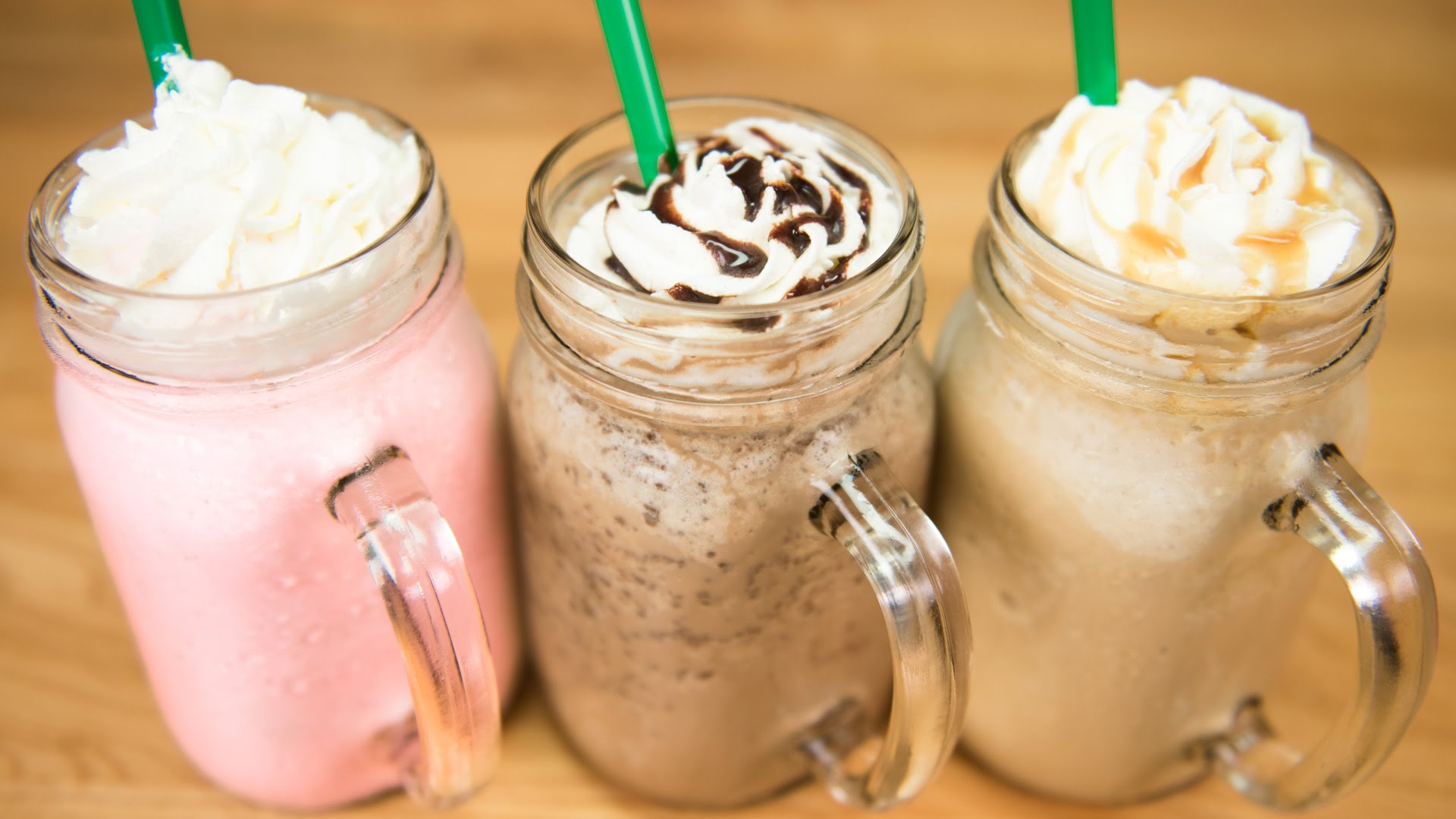 How To Make A Starbucks Frappuccino 3 Recipes