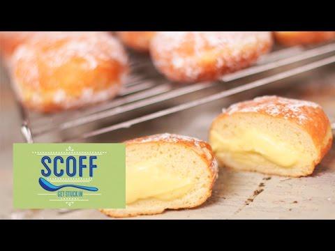 How To Make Custard Filled Doughnuts
