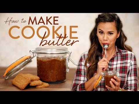 How To Make Homemade Cookie Butter