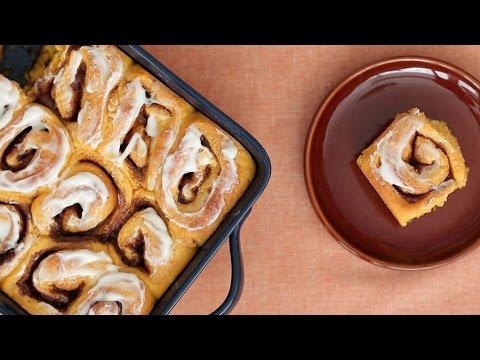 Why Not Make These Pumpkin Cinnamon Rolls
